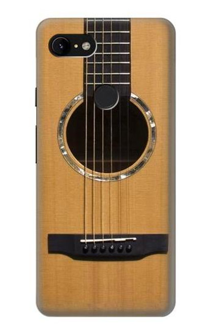 S0057 Acoustic Guitar Case For Google Pixel 3 XL