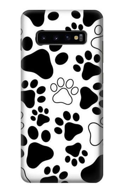 S2904 Dog Paw Prints Case For Samsung Galaxy S10 Plus