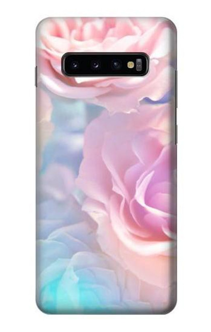 S3050 Vintage Pastel Flowers Case For Samsung Galaxy S10 Plus