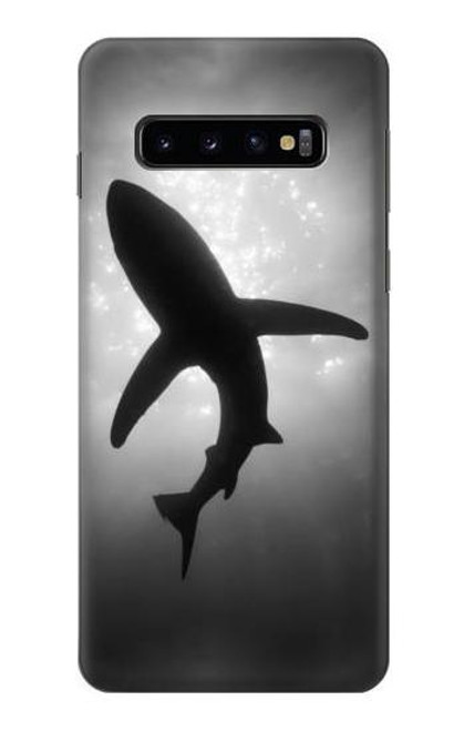 S2367 Shark Monochrome Case For Samsung Galaxy S10