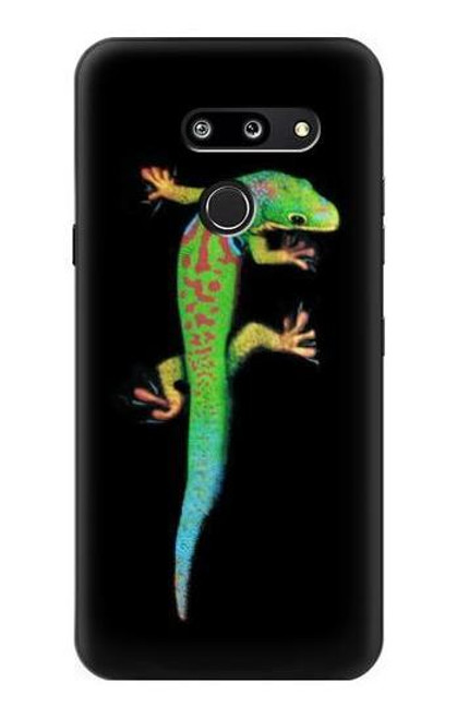 S0125 Green Madagascan Gecko Case For LG G8 ThinQ