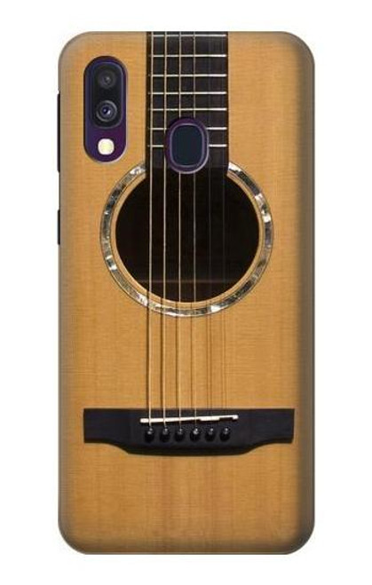 S0057 Acoustic Guitar Case For Samsung Galaxy A40