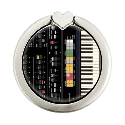 S0061 Synthesizer Graphic Ring Holder and Pop Up Grip