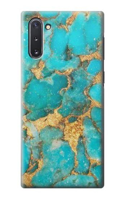 S2906 Aqua Turquoise Stone Case For Samsung Galaxy Note 10