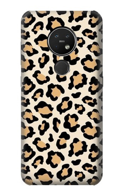 S3374 Fashionable Leopard Seamless Pattern Case For Nokia 7.2