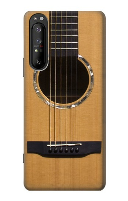 S0057 Acoustic Guitar Case For Sony Xperia 1 II