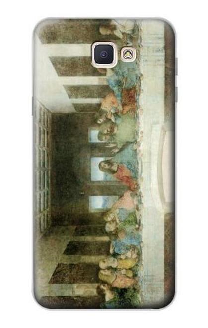 S0173 Leonardo DaVinci The Last Supper Case For Samsung Galaxy J7 Prime