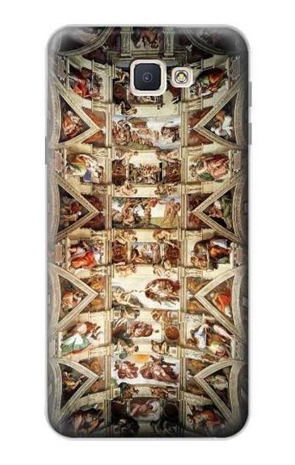 S0177 Michelangelo Chapel ceiling Case For Samsung Galaxy J7 Prime