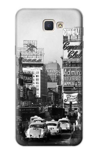 S0182 Old New York Vintage Case For Samsung Galaxy J7 Prime