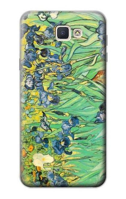 S0210 Van Gogh Irises Case For Samsung Galaxy J7 Prime