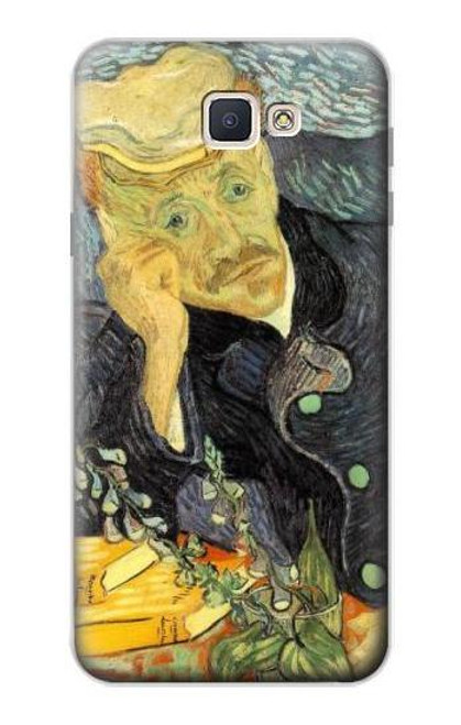 S0212 Van Gogh Portrait of Dr. Gachet Case For Samsung Galaxy J7 Prime