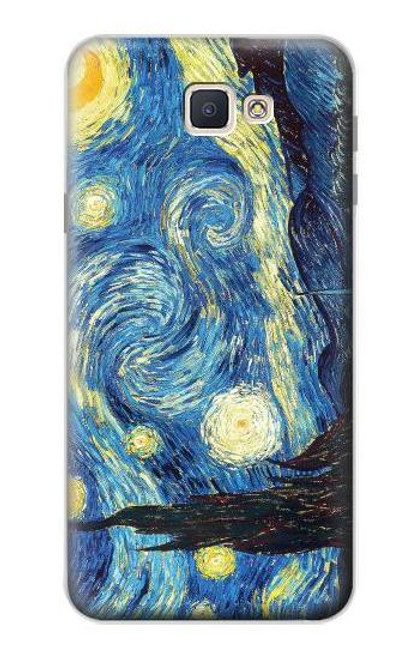 S0213 Van Gogh Starry Nights Case For Samsung Galaxy J7 Prime