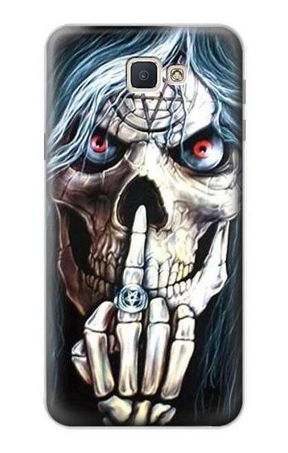 S0222 Skull Pentagram Case For Samsung Galaxy J7 Prime