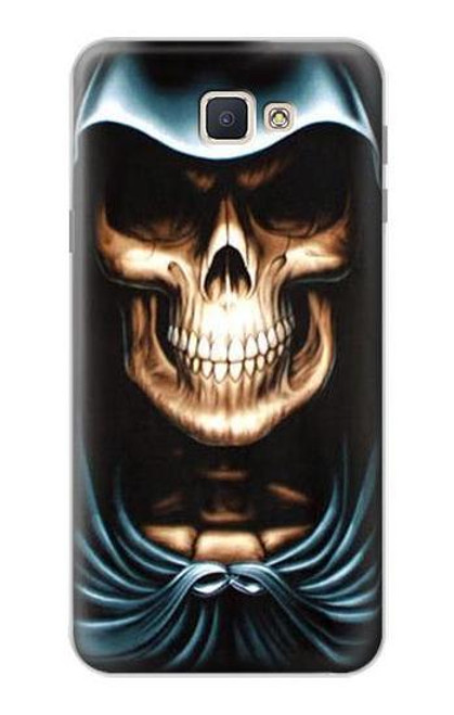 S0225 Skull Grim Reaper Case For Samsung Galaxy J7 Prime