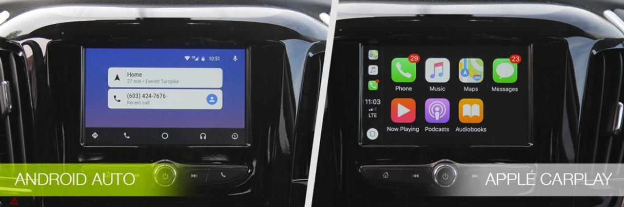 Apple Car/Android Auto AV units