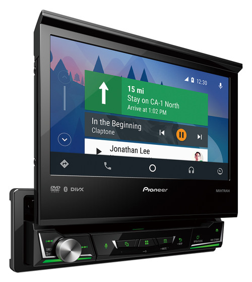 Pioneer AVH-Z7250BT Bluetooth Apple CarPlay & Android Auto USB DVD AUX NZ Tuners 3x Pre Outs Car Stereo