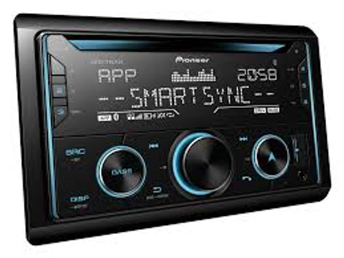 Pioneer FH-S725BT Car Stereo w/ Dual BT, USB/AUX & Smartphone Compatible