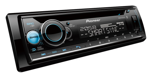 Pioneer DEH-S5250BT Car Stereo with Dual Bluetooth, Spotify Connect, USB/AUX