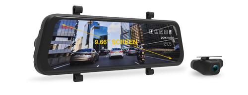 "MCPK-962DVR 9.66"" Touch Screen DVR Mirror"