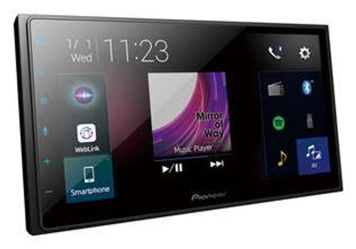 Pioneer DMHZ5350BT Capacitive Touch-screen Multimedia player with Apple CarPlay, Android Auto & Bluetooth.