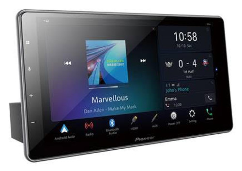 """Pioneer DMHZF9350BT 9"""" High Definition (HD) Capacitive Floating Touch-screen Multimedia player with Alexa Built-In, Apple CarPlay & Android Auto"""