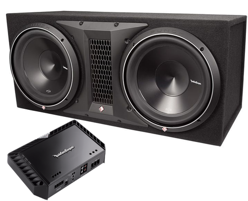 Rockford Fosgate P3 and R2-1200X1 amplifier package