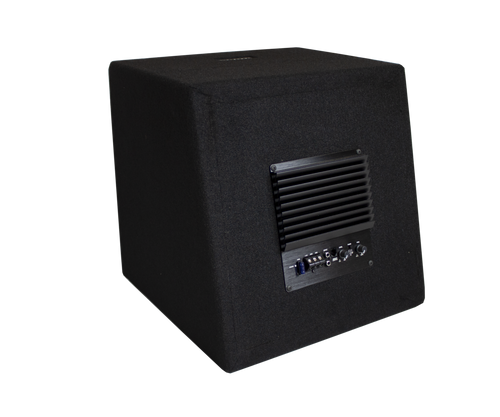 Zeroflex Powered 12'' 350rms Powered Basspack with Built in Amplifier and Remote