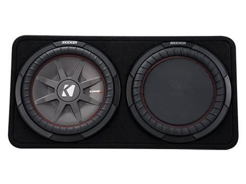 """Kicker 12"""" COMPRT 4 Ohm 500W Sub Box"""