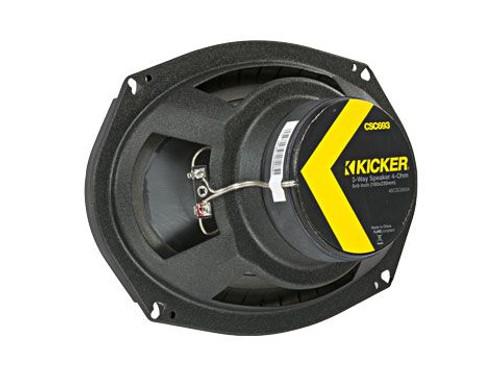 KICKER CSC6934 6X9 3WAY SPEAKERS 450w/150rms