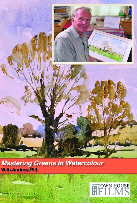 Mastering Greens In Watercolour With Andrew Pitt