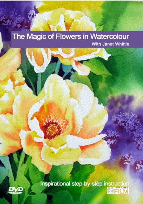 The Magic of Flowers in Watercolour - with Janet Whittle