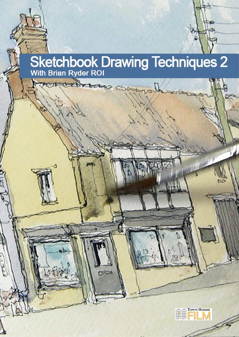 Sketchbook Drawing Techniques 2 - Adding Colour