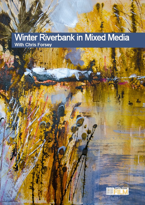 Winter Riverbank In Mixed Media With Chris Forsey R.I.