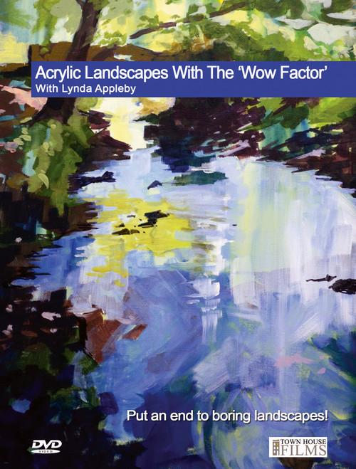 Acrylic Landscapes With The Wow Factor - With Lynda Appleby