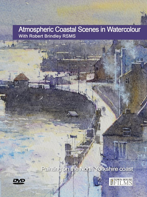 Atmospheric Coastal Scenes In  Watercolour  With Robert Brindley RSMA