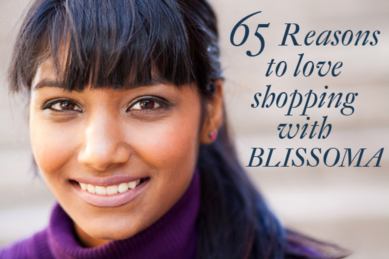 65 Reasons to love shopping with Blissoma natural and holistic skincare