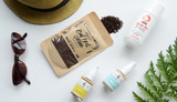On-the-Go Green Beauty - healthy and sustainable summer travel essentials