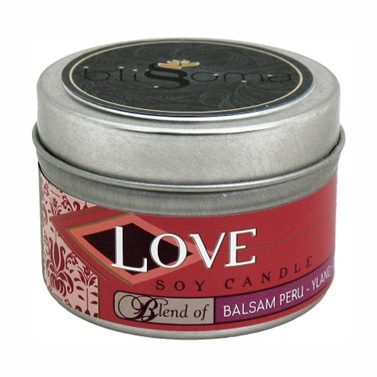 Love Aromatherapy Soy Candle 4 oz tin