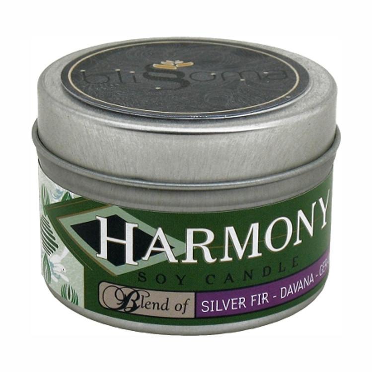 Harmony Aromatherapy Soy Candle 4 oz tin