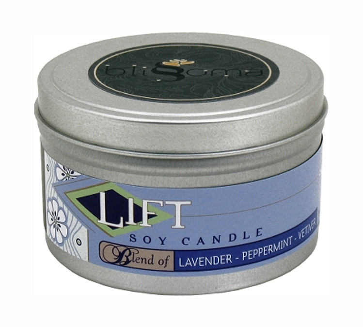 Lift Aromatherapy Soy Candle 8 oz tin