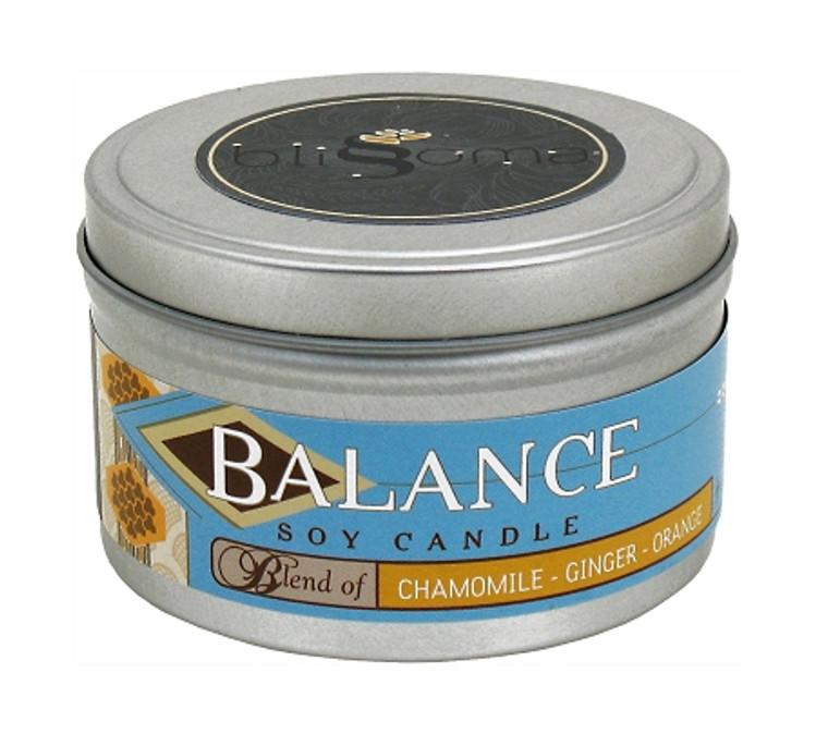 Balance Aromatherapy Soy Candle 8 oz tin
