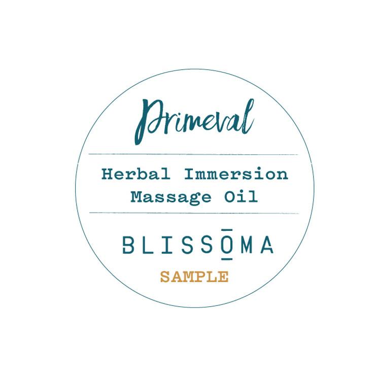 Primeval Sample - Herbal Immersion Massage Oil