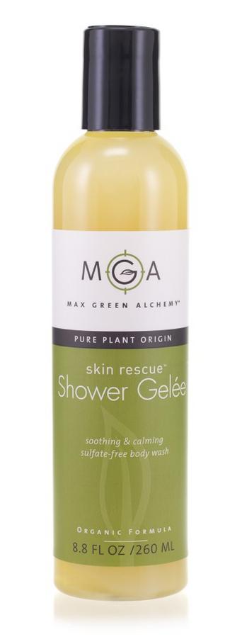 Max Green Alchemy Shower Gelee for gentle, luxurious natural body wash