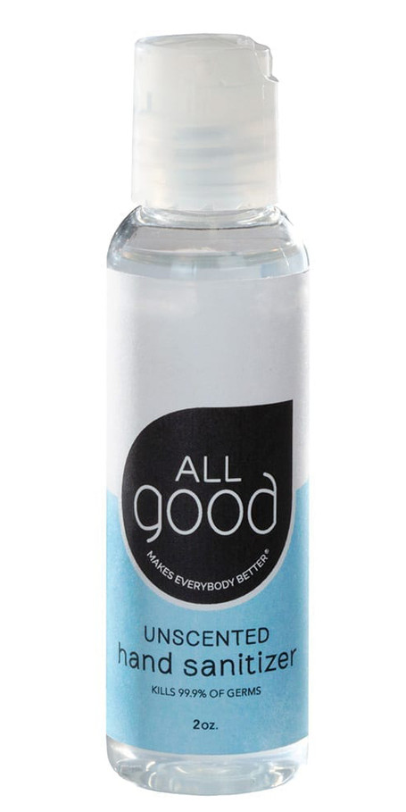 All Good Unscented Natural Hand Sanitizer