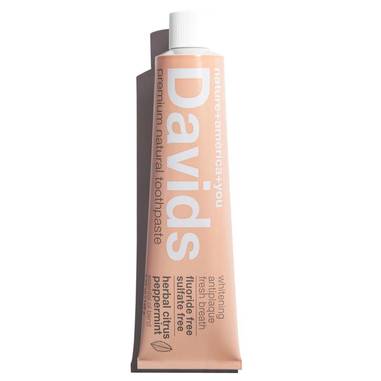 Davids Premium Natural Toothpaste in Herbal Citrus