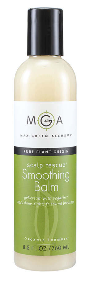 Max Green Alchemy Smoothing Balm for natural, vegan hair styling