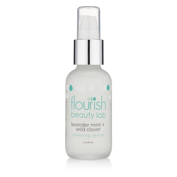 Flourish Mint & Wild Clover Silkening Serum