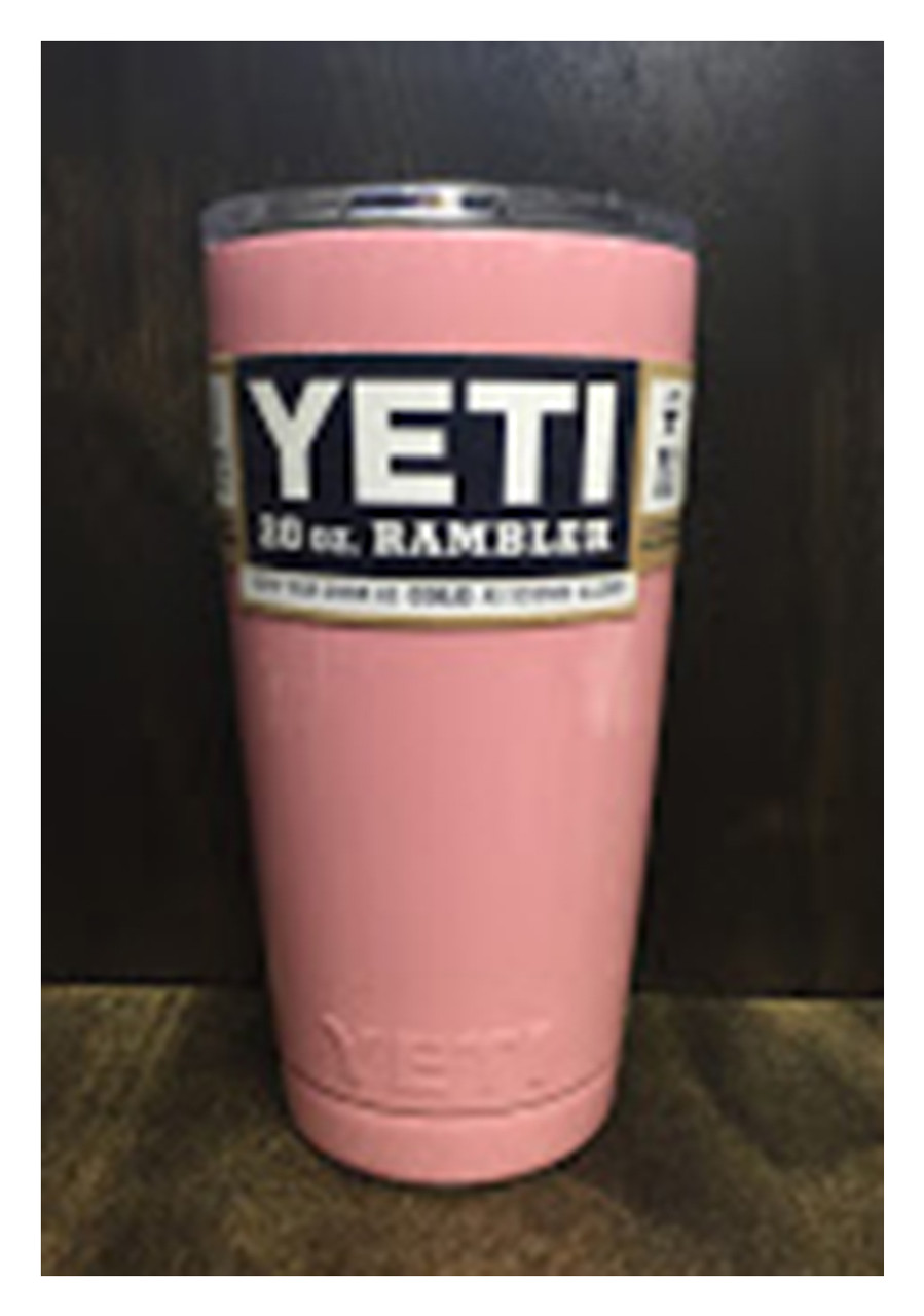 7658bc72e23 YETI Powder Coated Rambler Tumbler, 20oz - Trenz Shirt Company