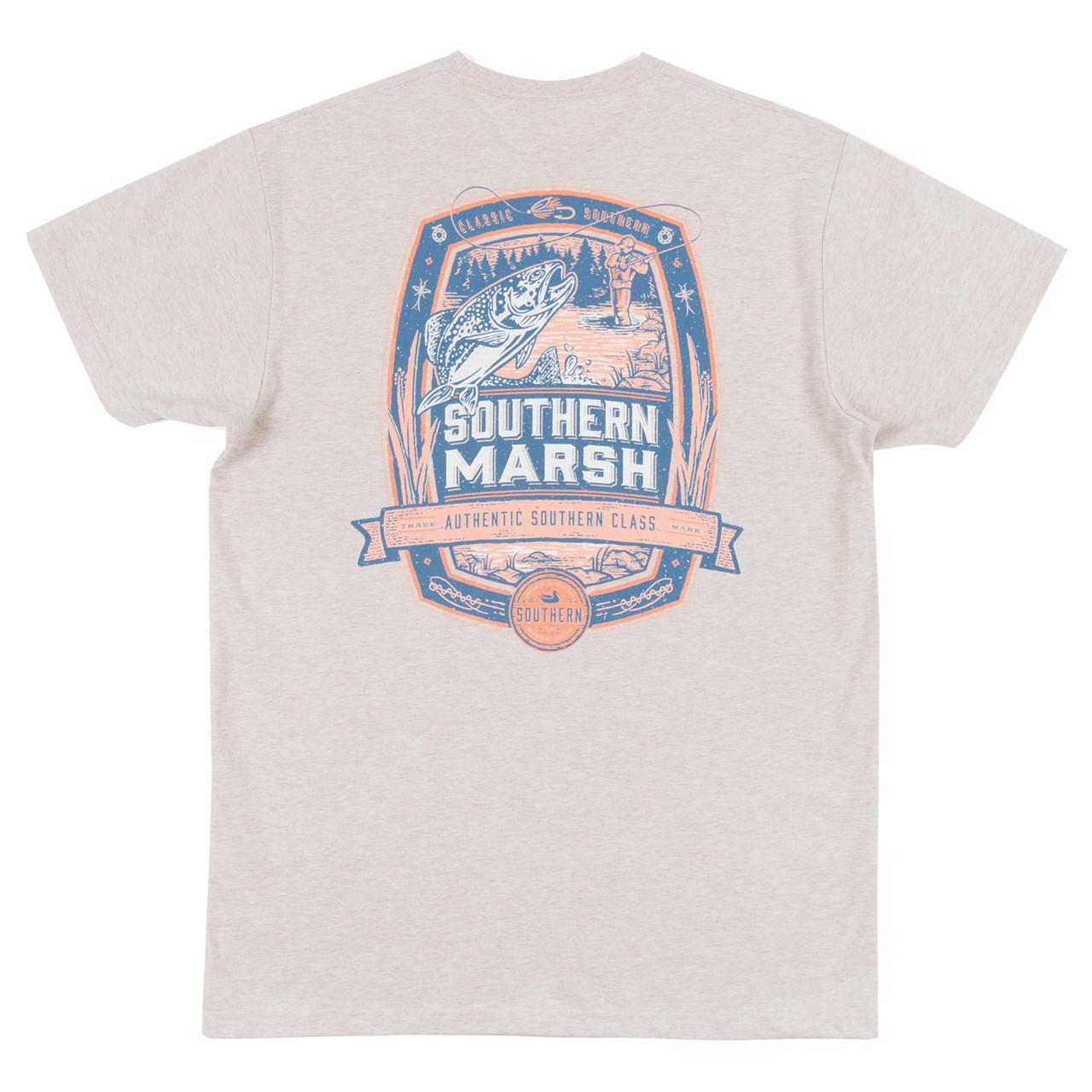 5f56882b0d72 Southern Marsh Genuine Fly Fishing Short Sleeve T-shirt - Trenz Shirt  Company