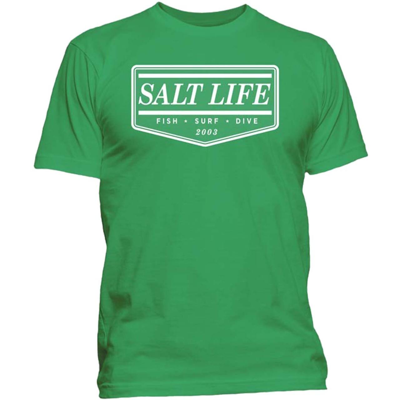 347586b720848 Salt Life Mens The Original Short Sleeve Front Print T-shirt - Trenz Shirt  Company
